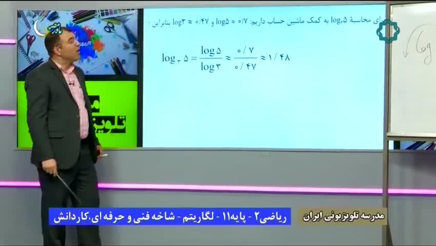 ویدیو آموزش پودمان 4 ریاضی یازدهم هنرستان بخش 6