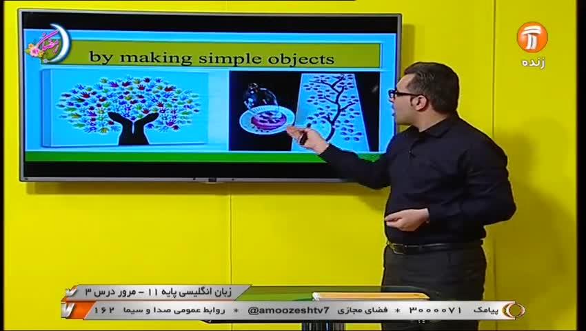 ویدیو جمع بندی درس 3 زبان یازدهم بخش 2