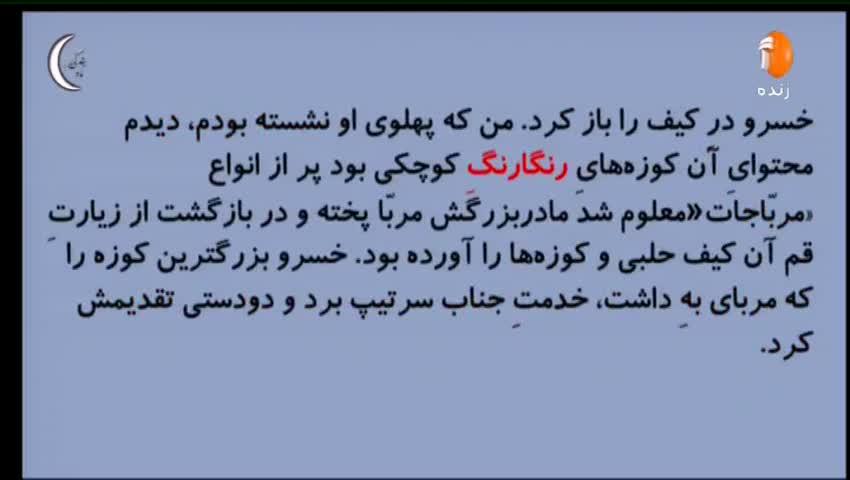 ویدیو آموزش درس 16 فارسی دهم بخش 3
